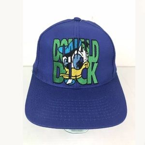 The Disney Store Donald Duck Snapback Dad Hat